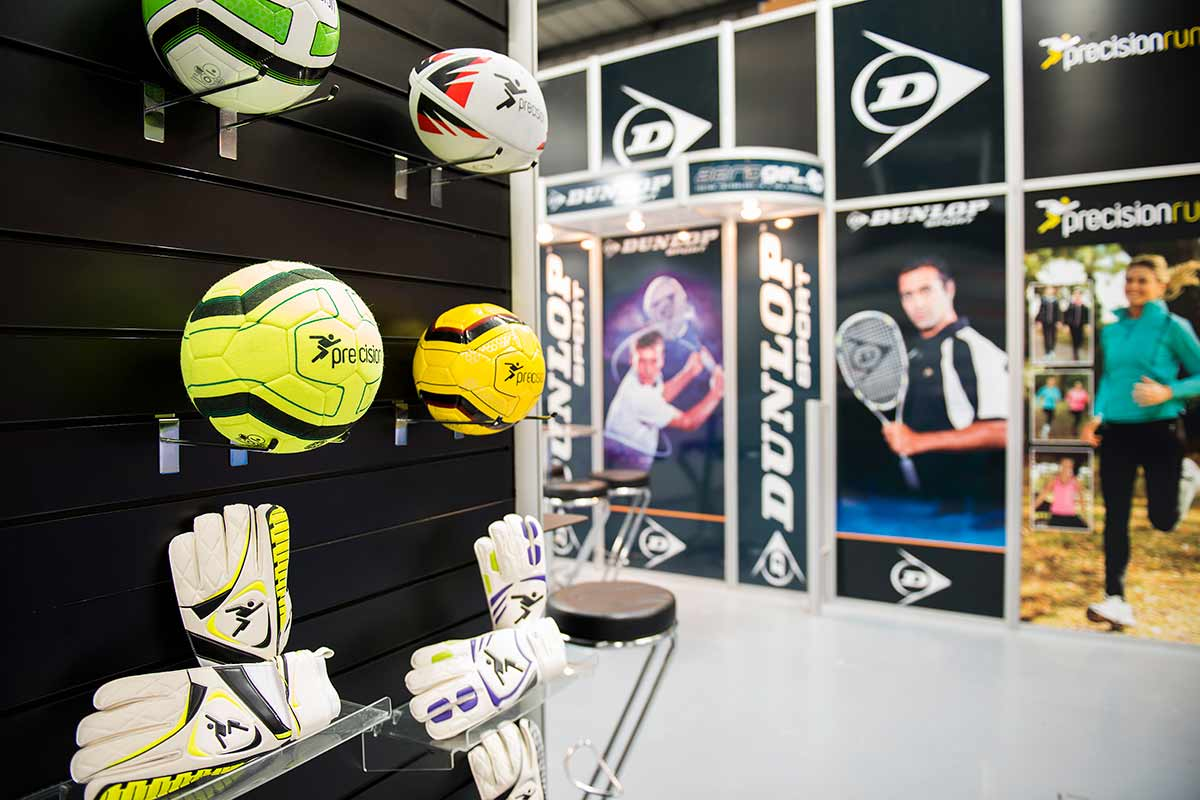 precision Sports exhibition